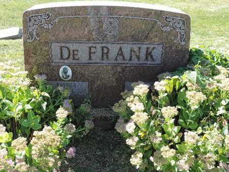 DEFRANK, PAUL - Franklin County, Ohio | PAUL DEFRANK - Ohio Gravestone Photos