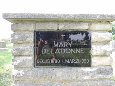 DELADONNE, MARY - Franklin County, Ohio   MARY DELADONNE - Ohio Gravestone Photos