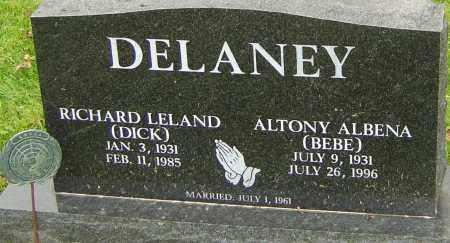 DELANEY, RICHARD - Franklin County, Ohio | RICHARD DELANEY - Ohio Gravestone Photos