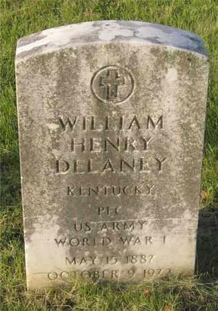 DELANEY, WILLIAM HENRY - Franklin County, Ohio   WILLIAM HENRY DELANEY - Ohio Gravestone Photos