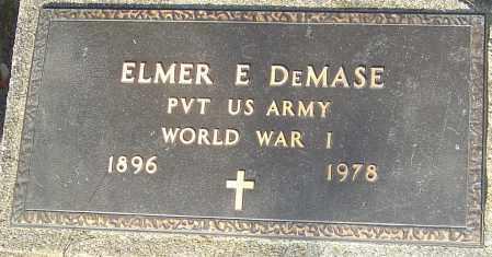 DEMASE, ELMER - Franklin County, Ohio | ELMER DEMASE - Ohio Gravestone Photos