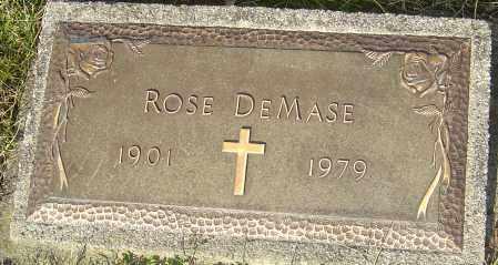 DEMASE, ROSE - Franklin County, Ohio | ROSE DEMASE - Ohio Gravestone Photos