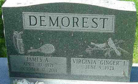 DEMOREST, JAMES A - Franklin County, Ohio | JAMES A DEMOREST - Ohio Gravestone Photos