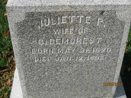 DEMOREST, JULIETTE - Franklin County, Ohio | JULIETTE DEMOREST - Ohio Gravestone Photos