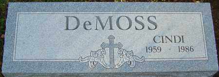 DEMOSS, CYNTHIA - Franklin County, Ohio | CYNTHIA DEMOSS - Ohio Gravestone Photos