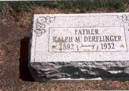 DERFLINGER, RALPH M. - Franklin County, Ohio | RALPH M. DERFLINGER - Ohio Gravestone Photos
