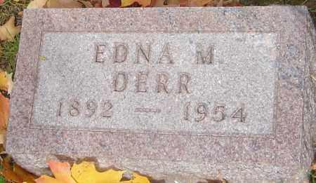 DERR, EDNA M - Franklin County, Ohio | EDNA M DERR - Ohio Gravestone Photos