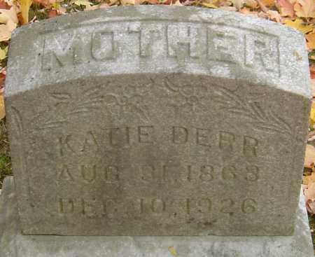 DERR, KATIE - Franklin County, Ohio | KATIE DERR - Ohio Gravestone Photos