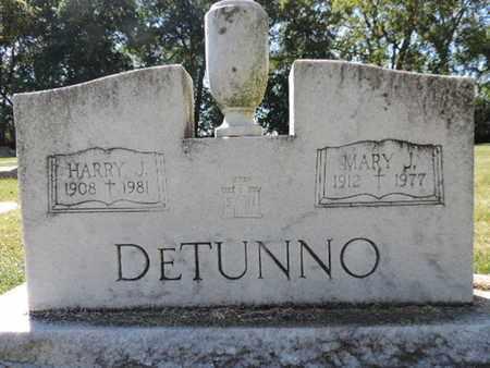 DETUNNO, HARRY J. - Franklin County, Ohio | HARRY J. DETUNNO - Ohio Gravestone Photos