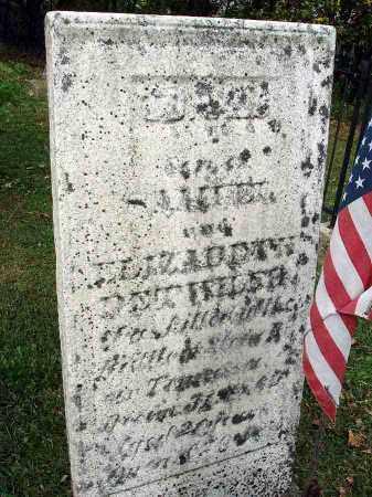 DETWILER, ISAAC - Franklin County, Ohio   ISAAC DETWILER - Ohio Gravestone Photos