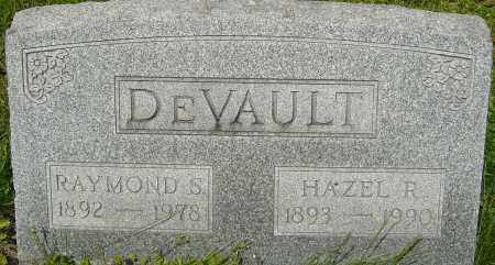 DEVAULT, RAYMOND S - Franklin County, Ohio | RAYMOND S DEVAULT - Ohio Gravestone Photos