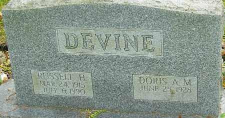 DEVINE, RUSSELL - Franklin County, Ohio | RUSSELL DEVINE - Ohio Gravestone Photos