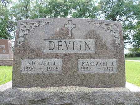 DEVLIN, MARGARET J. - Franklin County, Ohio | MARGARET J. DEVLIN - Ohio Gravestone Photos