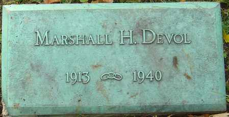 DEVOL, MARSHALL A - Franklin County, Ohio | MARSHALL A DEVOL - Ohio Gravestone Photos