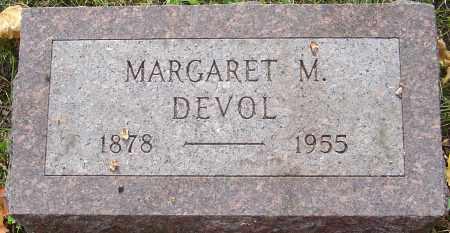DEVOL, MARGARET - Franklin County, Ohio | MARGARET DEVOL - Ohio Gravestone Photos