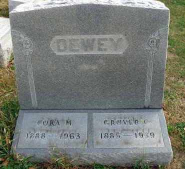 DEWEY, GROVER C. - Franklin County, Ohio | GROVER C. DEWEY - Ohio Gravestone Photos
