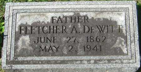 DEWITT, FLETCHER AMES - Franklin County, Ohio | FLETCHER AMES DEWITT - Ohio Gravestone Photos