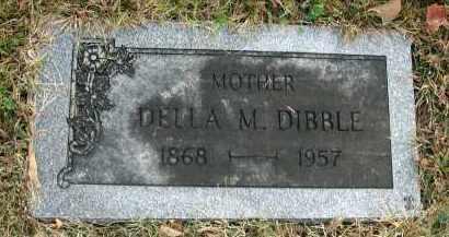 DIBBLE, DELLA M. - Franklin County, Ohio | DELLA M. DIBBLE - Ohio Gravestone Photos
