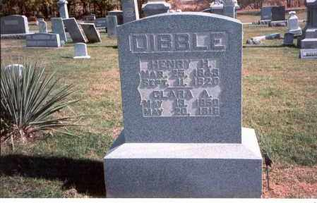 ARENDT DIBBLE, CLARA - Franklin County, Ohio | CLARA ARENDT DIBBLE - Ohio Gravestone Photos