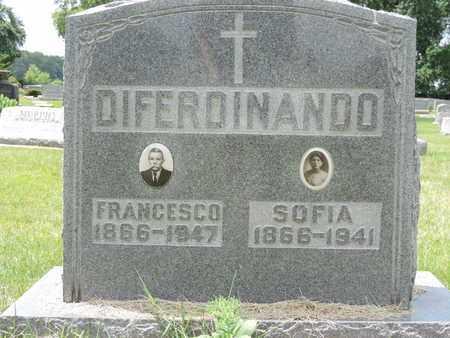 DIFERDINANDO, SOFIA - Franklin County, Ohio | SOFIA DIFERDINANDO - Ohio Gravestone Photos