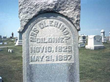 DILDINE, CLERINDA - Franklin County, Ohio | CLERINDA DILDINE - Ohio Gravestone Photos