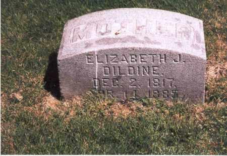 DILDINE, ELIZABETH J. - Franklin County, Ohio   ELIZABETH J. DILDINE - Ohio Gravestone Photos