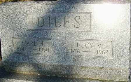 DILES, PEARL H - Franklin County, Ohio | PEARL H DILES - Ohio Gravestone Photos