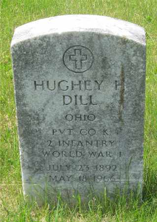 DILL, HUGHEY H. - Franklin County, Ohio | HUGHEY H. DILL - Ohio Gravestone Photos