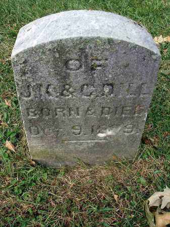DILL, INFANT - Franklin County, Ohio | INFANT DILL - Ohio Gravestone Photos