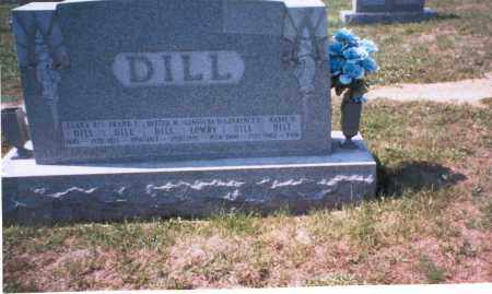 DILL, LAWRENCE - Franklin County, Ohio | LAWRENCE DILL - Ohio Gravestone Photos