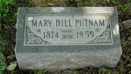 DILL PUTNAM, MARY - Franklin County, Ohio | MARY DILL PUTNAM - Ohio Gravestone Photos