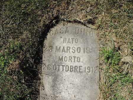 DINO, CASA - Franklin County, Ohio   CASA DINO - Ohio Gravestone Photos