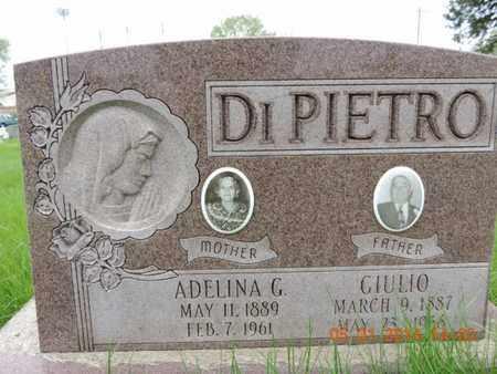 DIPIETRO, GIULIO - Franklin County, Ohio | GIULIO DIPIETRO - Ohio Gravestone Photos