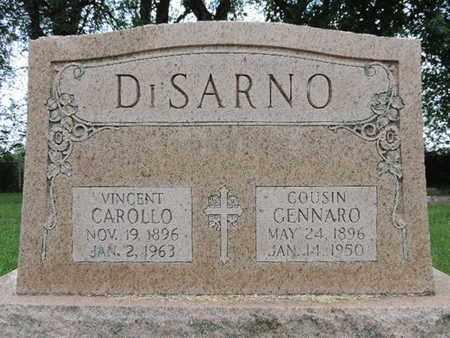 DISARNO, VINCENT - Franklin County, Ohio | VINCENT DISARNO - Ohio Gravestone Photos