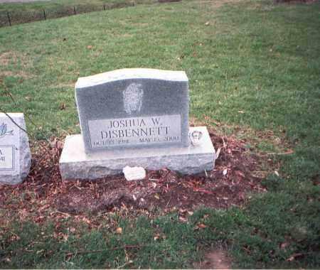 DISBENNETT, JOSHUA W. - Franklin County, Ohio   JOSHUA W. DISBENNETT - Ohio Gravestone Photos