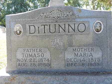 DITUNNO, MARIA - Franklin County, Ohio | MARIA DITUNNO - Ohio Gravestone Photos