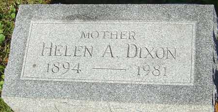 DIXON, HELEN A - Franklin County, Ohio   HELEN A DIXON - Ohio Gravestone Photos