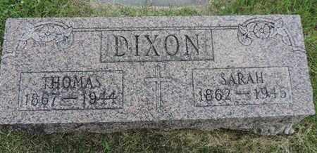 DIXON, THOMAS - Franklin County, Ohio   THOMAS DIXON - Ohio Gravestone Photos