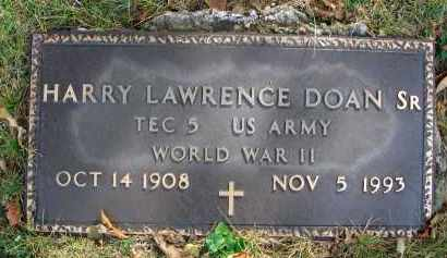 DOAN, HARRY LAWRENCE - Franklin County, Ohio | HARRY LAWRENCE DOAN - Ohio Gravestone Photos