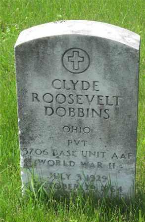 DOBBINS, CLYDE ROOSEVELT - Franklin County, Ohio | CLYDE ROOSEVELT DOBBINS - Ohio Gravestone Photos