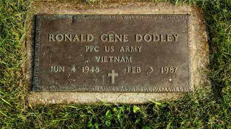 DODLEY, RONALD GENE - Franklin County, Ohio   RONALD GENE DODLEY - Ohio Gravestone Photos