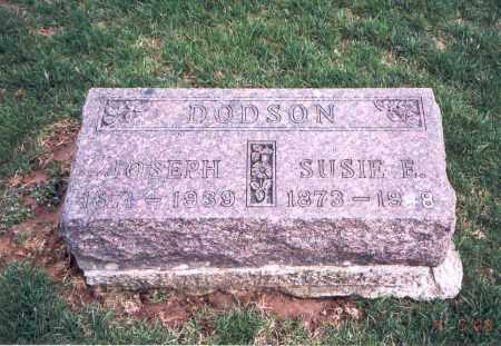 SIMMS DODSON, SUSIE E. - Franklin County, Ohio | SUSIE E. SIMMS DODSON - Ohio Gravestone Photos