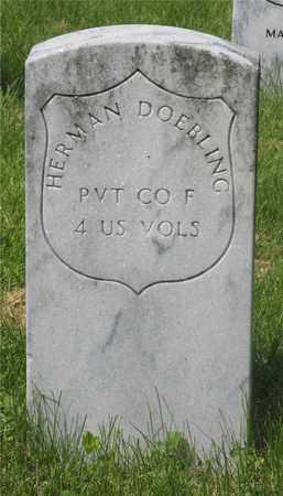 DOEBLING, HERMAN - Franklin County, Ohio | HERMAN DOEBLING - Ohio Gravestone Photos