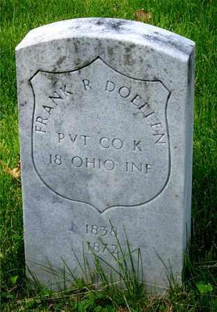DOELLEN, FRANK R. - Franklin County, Ohio | FRANK R. DOELLEN - Ohio Gravestone Photos