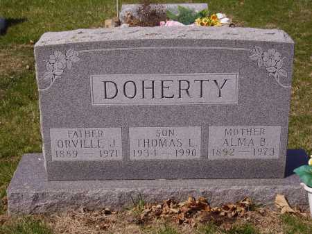 DOHERTY, ALMA B. - Franklin County, Ohio | ALMA B. DOHERTY - Ohio Gravestone Photos