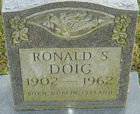DOIG, RONALD - Franklin County, Ohio | RONALD DOIG - Ohio Gravestone Photos