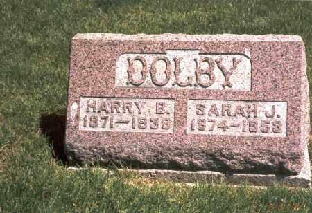 DOLBY, SARAH J. - Franklin County, Ohio   SARAH J. DOLBY - Ohio Gravestone Photos