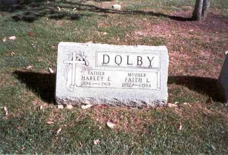 DOLBY, HARLEY E. - Franklin County, Ohio | HARLEY E. DOLBY - Ohio Gravestone Photos