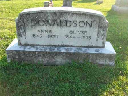DONALDSON, OLIVER - Franklin County, Ohio | OLIVER DONALDSON - Ohio Gravestone Photos