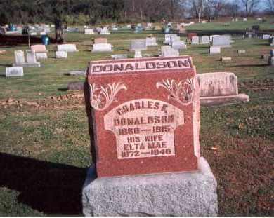 DONALDSON, CHARLES - Franklin County, Ohio   CHARLES DONALDSON - Ohio Gravestone Photos